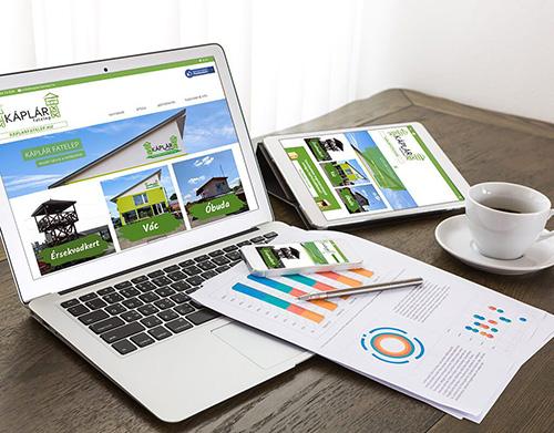 kaplarfatelep web - webfejlesztés