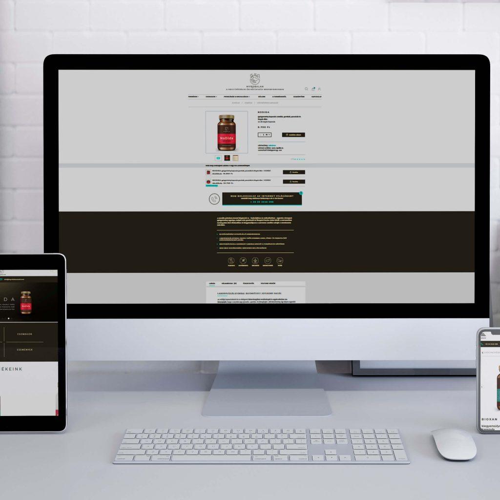 myrobalanmed-webfejlesztes