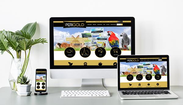 Perigold weboldal webfejlesztés