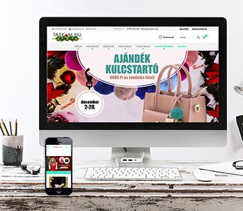 Táskám.hu - webfejlesztés
