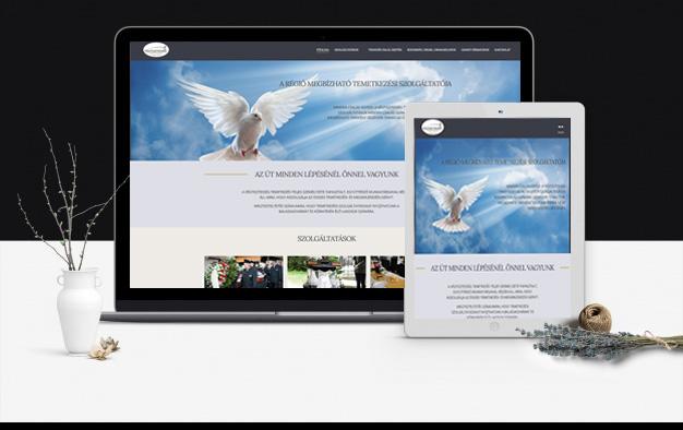 temetkezes balassagyarmat webdesign, webfejlesztés
