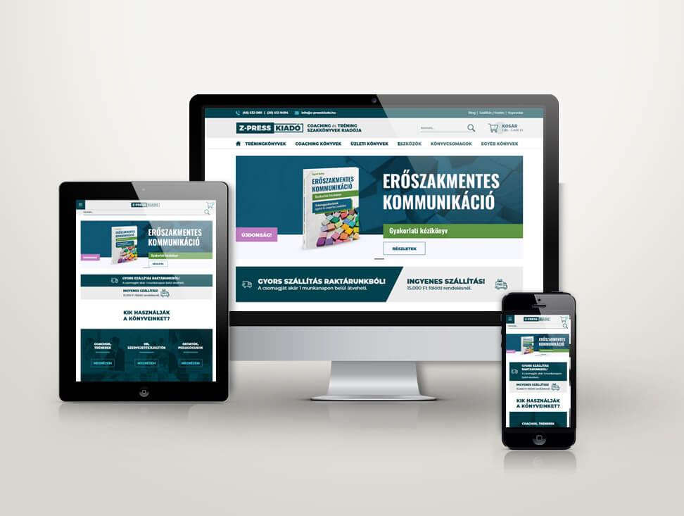 Z-press.hu webfejlesztés